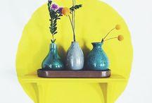 // flowers & plants // blumen & pflanzen // / Plants, flowers and co. Blumen, Pflanzen und urban jungle . Schnittblumen , Vasen , Topfpflanzen und kakteen schön inszeniert