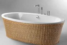 Bath Tubs / Pedestal & Claw-foot Tubs ~ Vintage to Ultra Modern.  I want one someday... / by PamDesigns 3D