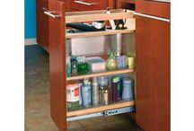 Ingenious ~ Storage & Organization / A down economy means living spaces are getting smaller.  The challenge of smaller living quarters means tackling the battle of organization.  While some of these pins are rather lavish, look at them in detail to find ideas you can incorporate into your spaces.