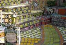 Tile Work & Mosaic / by PamDesigns 3D