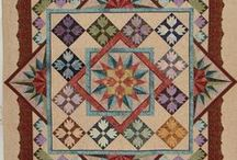 Quilts ~ Vintage Style / This board is a tribute to my mom, Barbara Moore, who passed away a few years back.  She was a fabulous quilter and her work decorates my rooms and reminds me of her daily... These are vintage style quilts... some of these are new but in traditional style or using reproduction or vintage  fabrics.