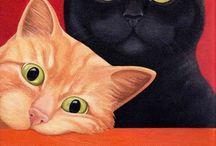 Artfully cats / Cat Art / by Janis