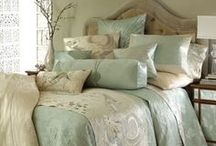 BR ~ Bed Linens / dressing up the bed with coverlets, pillows, quilts, bed skirts... etc. / by PamDesigns 3D
