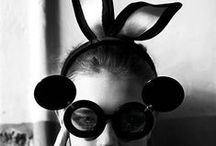 Bunny Love / These are anything really to do with bunny's - especially when I see people wearing bunny ears that are fashionable and fun!