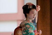 Japan ~ Maiko / Japanese Apprentice Geisha (also known as minarai)