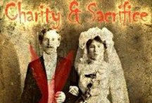 """Charity and Sacrifice / Pics relating to my 10K Novelette """"Charity and Sacrifice"""" from Uncial Press (Release date Oct 2016!) For more info: http://www.gloriaoliver.com/charity/"""