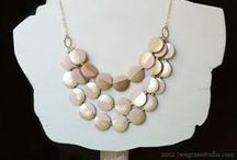 seagrass studio / creative and handmade accessories, hand painted necklaces