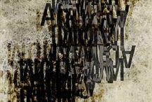 letras / caligrafía_tipografía