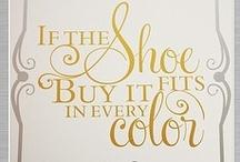 "I ""shoes"" you / Fabulous shoes"
