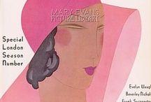 vintage magazine covers / by Susann Bach