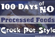 Crock-Pot Recipes / Meals for the slow cooker.