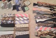 Volume V Collection / Reversible Bow Ties, Reversible Ties, Reversible Pocket Squares and Flower Lapel Pins