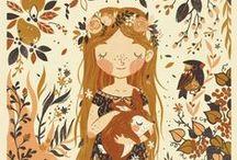 Favorite Illustrators / Tegan White, Isabelle Arsenault, Frannerd, Jago Silver, Ana Maria Horner, VeraBee, Virginia Lee Burton, Cristina Daura, Muti Studio