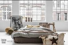 decorating inspiration - brownstone loft & industrial / by Kerrie Bonham