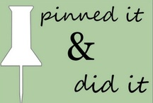 Pinned, Did & Reviewed / by Ruth Callen Kovacs