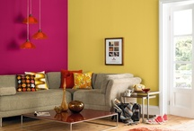 Bring Living Rooms Alive / Bring life to your living rooms with these inspirational colours