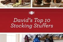 Holiday Stocking Stuffers / Find all the perfect items for the #foodies in your life. / by David Venable QVC