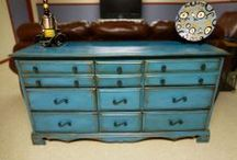 Chalk Paint Ideas / I've always like to paint furniture but this takes it to another level.  I have tried several pieces with great results.   / by Christine Mesarchik Spierling