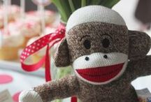 Sock Monkey Love /  @Celebrate Yall©