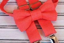 Ties, bow ties, and suspenders / Weddings, proms, home comings,