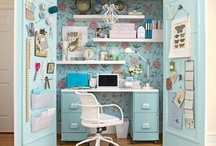 home - home office / craft room inspiration / by JanMary