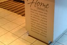 For the home  / And interior designs / by Catherine Russell