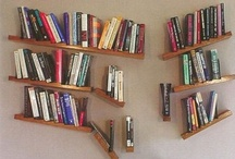 Bookshelves/bookcases I adore / by SkyDancer