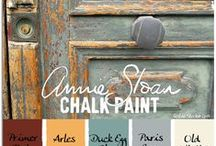 home - painted furniture / I love painting with chalk paint - tips, tricks, inspiration