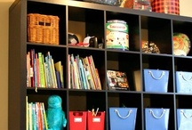 Putting Children & Toys IN ORDER / Organizing children's rooms, toys, books, play areas