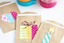 Washi tape / Creatief met washi tape