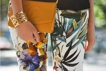 Tropical Print Style