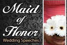Maid of honor / For my bff Gelen  / by Lulu Rangel