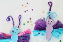 craft - toddlers / Creative fun activities for pre-school kids - ideal for toddlers / by JanMary