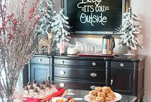 Winter Baby Shower Ideas / Baby shower ideas for winter-decorating, menu ideas and recipes