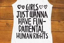 Feminism / All things feminism! Essays, art, feminists, media & more.
