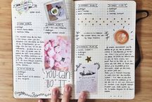 journal, planner, notes