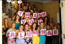 Public Relations Ideas / Boards, banners and fun freebies. We love to see how our ADPi chapters get their names out there!