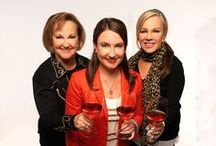 Women's History Month / Women from history - including today - we'd love to have a glass of wine with...