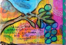 Mixed Media Makery / Mixed Media Art & Collage -examples, inspiration, tutorials & more for us all in the one place! Please JOIN & make this the collaborative place for Mixed Media. Email:  mcbusiness@bigpond.com  I have also started seperate boards under 'Artist ...' for some of my favourite artists :)  / by Michelle Clarke