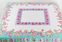 Vintage tablecloths  / by Trenna Hill