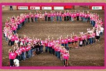 Tough Enough to Wear Pink / Tough Enough To Wear Pink is the western community's breast cancer awareness and fundraising charitable campaign.  What began as a grassroots movement has spread to rodeos and other sporting events across the U.S. and Canada. Money raised stays in the local community or goes to the Breast Cancer Research Foundation. Purple Cowboy Wines are the official wine of Tough Enough. http://toughenoughtowearpink.com/