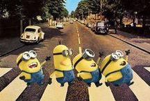 Minions ッ / A minion is a follower devoted to serve his/her master/mistress relentlessly. / by Cindy