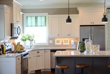White Kitchen Covet / Kitchen remodel / by Isabelle Armstrong