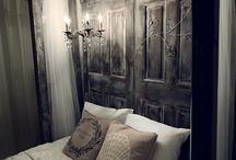 Decor: Bedrooms and Head boards / Head board and bed decor