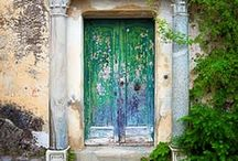 Portals / Pathways, doorways and windows to other places and spaces!