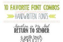 fun fonts  / by Stephanie Ortiz