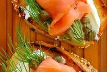 APPETIZER RECIPES / yes, appetizers and small things