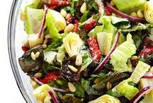 VEGETABLE RECIPES / greens, veggies, salad