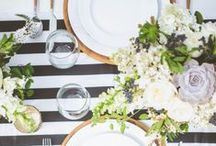 Entertaining / Inspiration for hosting, place settings, table decor, events and weddings.