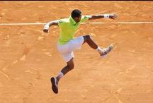 """Hitman"" Tsonga / Can you do the ""Tsonga?"" Watch out world the ""Hitman"" is gunning for the top spot and Babolat is his tool to get there."